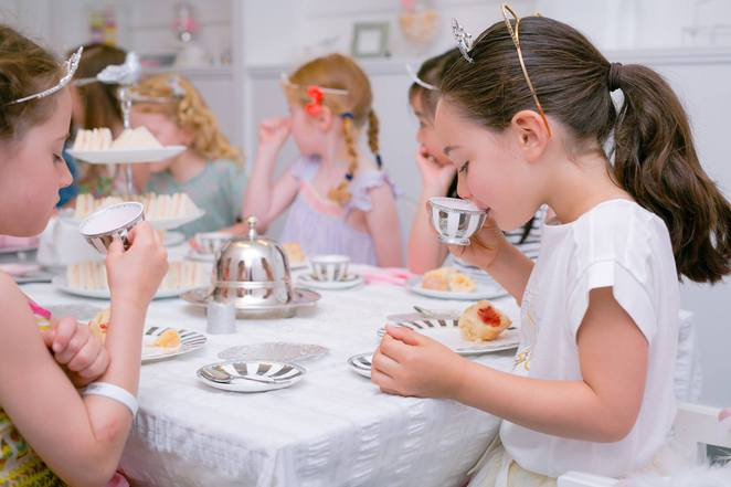 Majestic High Tea Party with Princess Belle