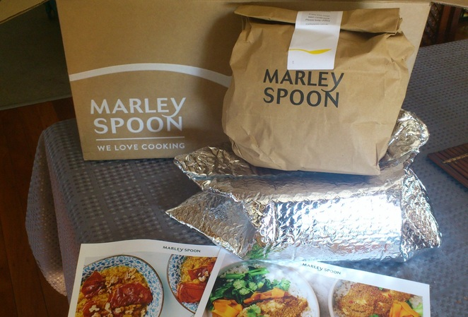 marley spoon, home delivered food, home delivered ingredients and recipes, food delivery brisbane,