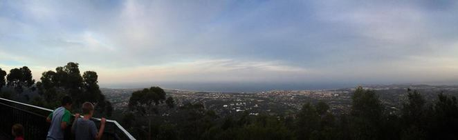 mount keira, lookout, mountain, view, south coast, wollongong