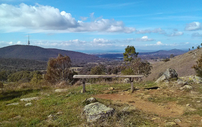 mount painter, canberra, ACT, walks, bushwalks, canberra nature parks, bushwalking, views, lookouts,