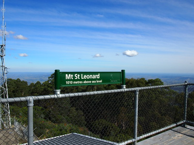 Healsville to mt st leonard walking trail melbourne for Piscine mt st aignan