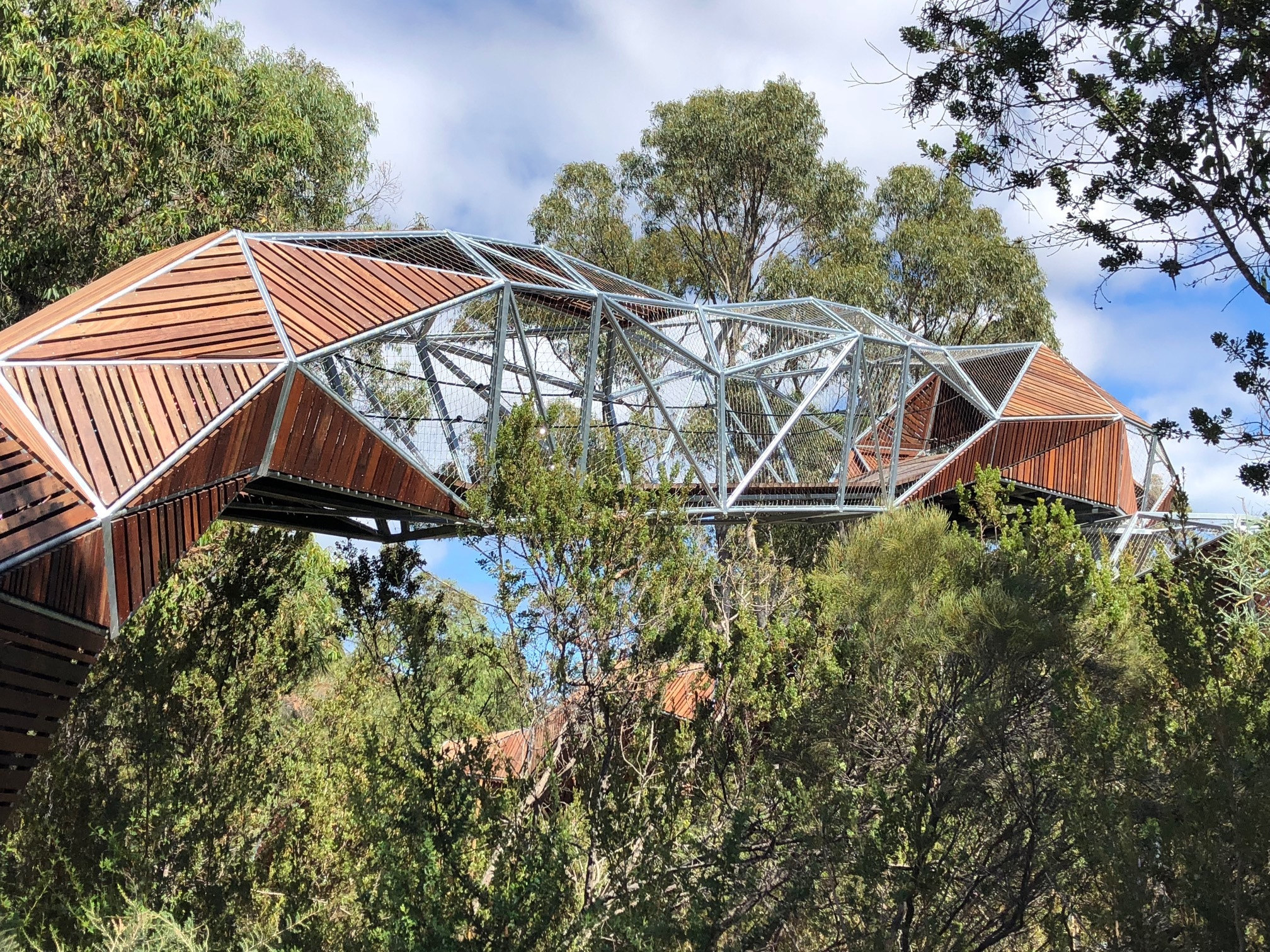 tinto rio naturescape kings park perth nature play natural completion revamp stage python hazards across walk