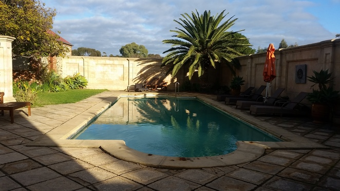 Outdoor, swimming, pool, water
