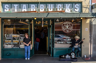 Pike Place Market Starbucks