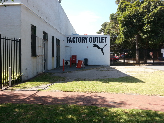 puma, factory outlet, moorabbin