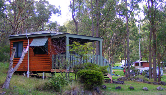 Cabin at the Queen Mary Falls Caravan & Tourist Park