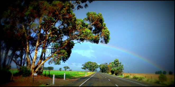 Rainy Days, Rainbows, Road Trip, Clare Valley, South Australia