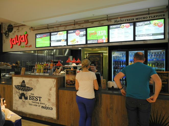 salsa, tex mex, mexican grill, rundle place, food court, 77, adelaide, rundle mall