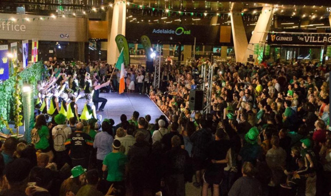 St. Patricks Day, Adelaide, Adelaide Oval, Adelaide Irish Club, family event, free event