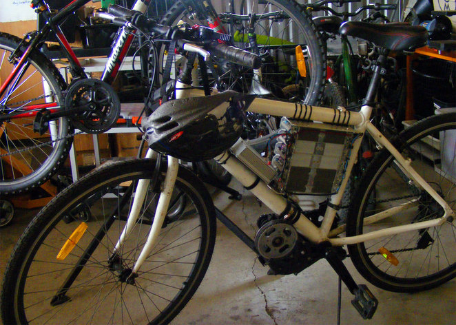 Substation 33 converts bicycles into ebikes