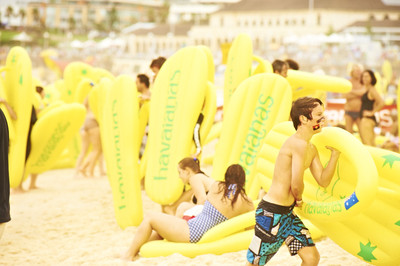Take bragging rights for not just the Sunshine Coast but Queensland by beating out other Australian states in participation numbers/Image from havaianaschallenge.com.au/
