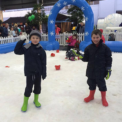 The Big Freeze Winter Festival at Fountain Gate