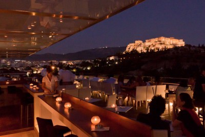 Thissio View Restaurant Athens Greece