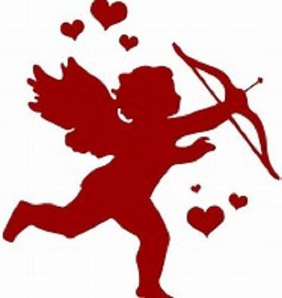 Valentine's Day cupid couples