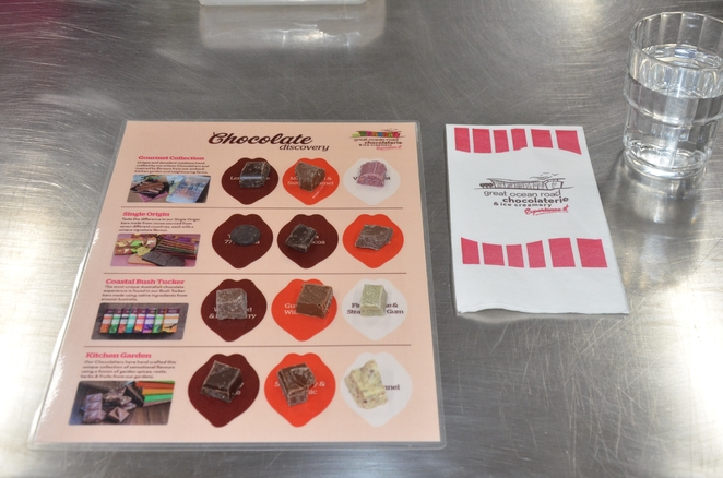 We got to taste a large variety of chocolates and learn their secret ingrediants