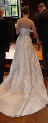 wedding, dress, blair castle, white, ceremony