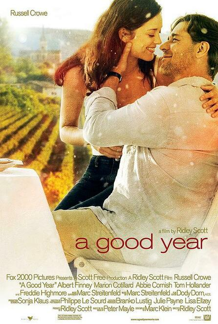 A Good Year, film review, isolation, watch, France, Russell Crowe, Marion Cotillard