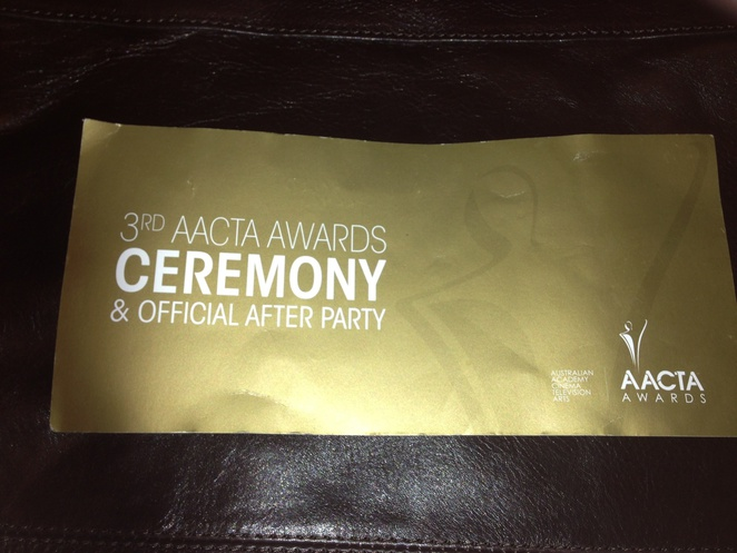 AACTA Awards & Official After-party ticket