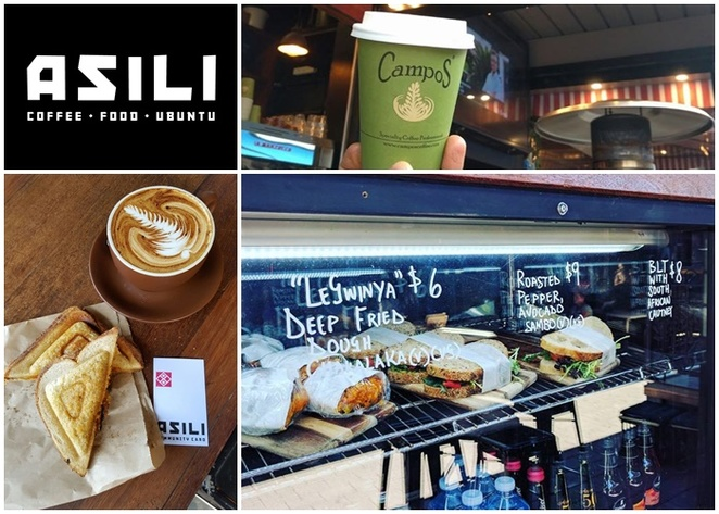 asili, canberra, coffee, takeaway, ACT, african food, jaffles, coffee outlet, campos coffee,