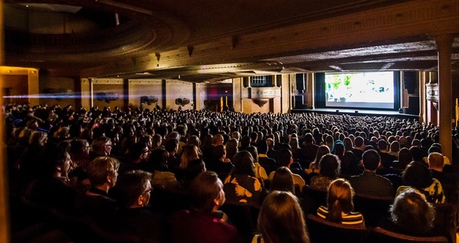 Audiences,at,St,Kilda,Film,Festival
