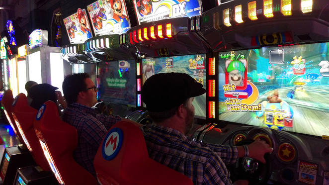 All the classic arcade games you know and love are at B. Lucky & Sons bar