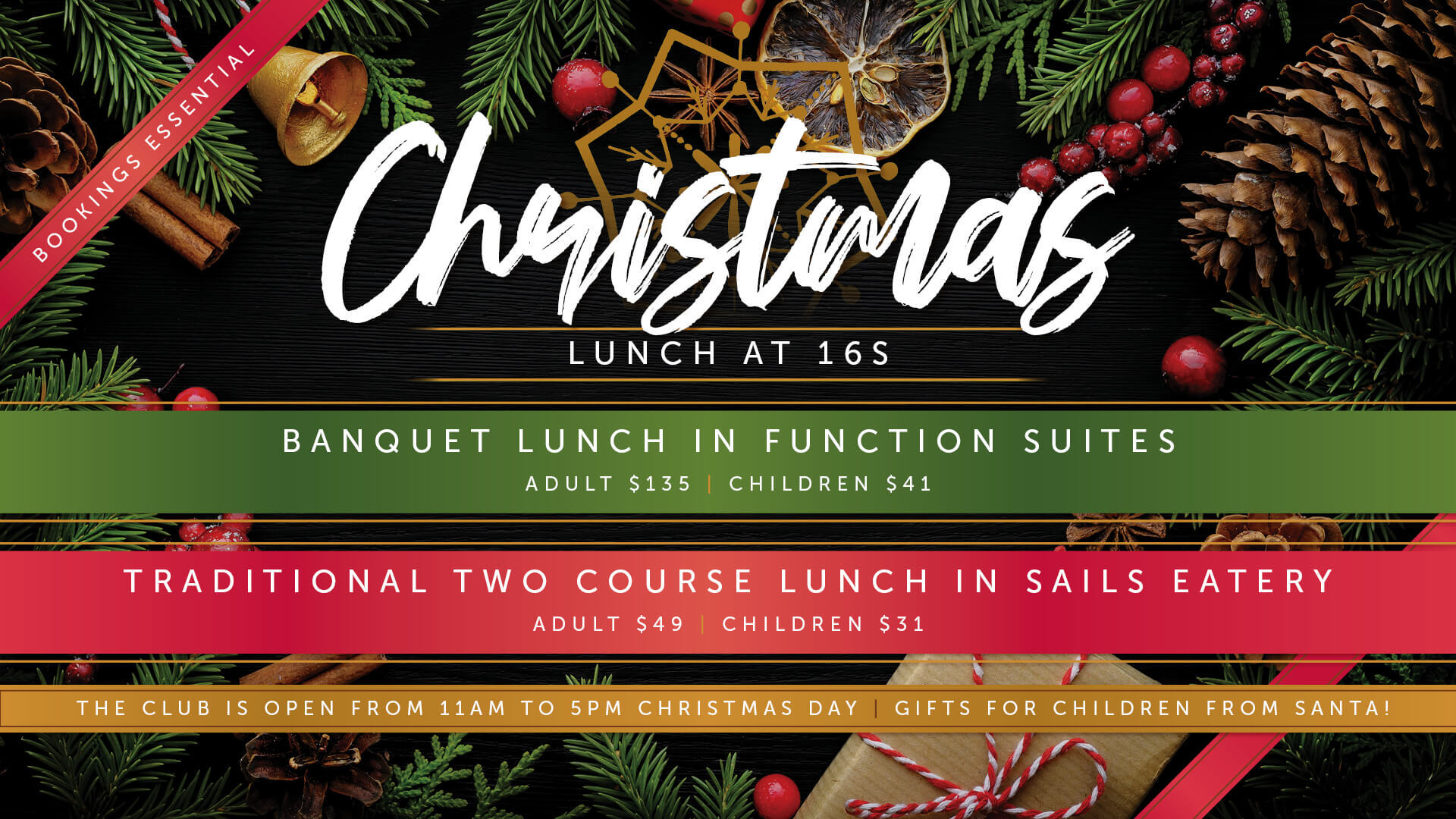 10 Christmas Day Lunch Venues In The Newcastle Region 2019 Newcastle