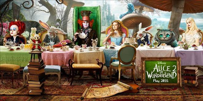 capri theatre, goodwood, mad hatters tea party, screening alice through the looking glass, movie event