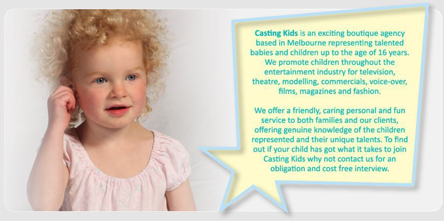 How To Get Your Child Into Modelling In Melbourne - Melbourne