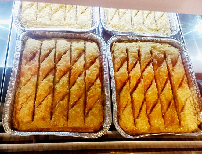 Christopher's cake shop Randwick Baklava tray