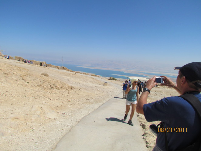 Colin gets his shot at the Dead Sea