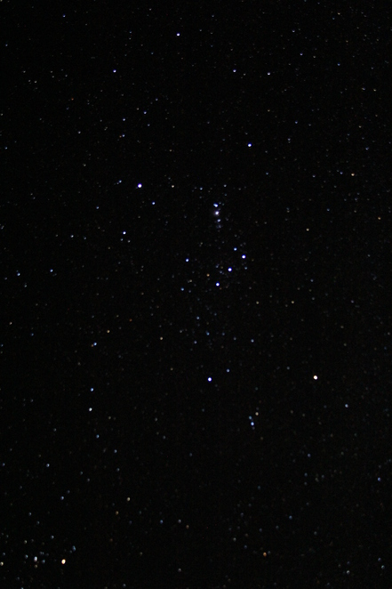 Constallation Orion the Hunter dominates our summer skies.