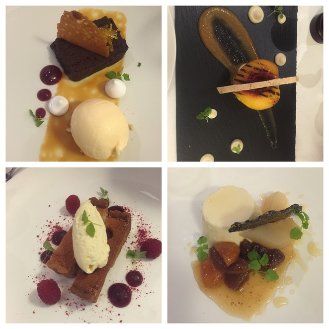 desserts, the rocks, restaurants at the rocks, william blue dining, hospitality school, fine dining, ex rockpool,