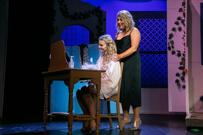 Donna and Sophie Mamma Mia