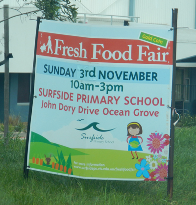 Surfside Primary School Fresh Food Fair 2013