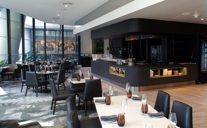 Eden's Table at Westin Hotel is open for breakfast lunch and dinner 7 days a week