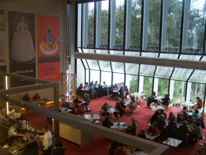 Gallery Cafe, National Gallery of Australia, Canberra