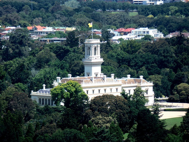 government house in melbourne