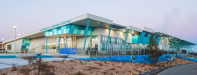 Gungahlin Leisure Centre, public swimming pools in Canberra, toddler pools