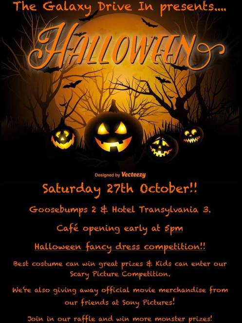 halloween events in perth 2018, galaxy drive in, halloween party perth, halloween movies perth 2018