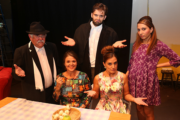 It's All Greek To Me Too, Old Mill Theatre, Bush-Fire Appeal, Noel O'Neill, Valerie Dragojevic, Kim Taylor