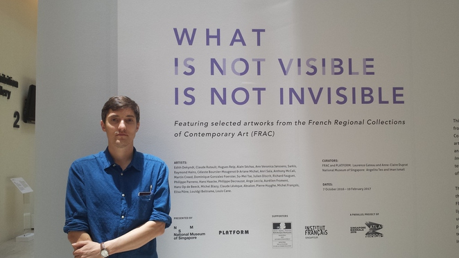 Julien Discrit, Joana Djoeis Wen, Joana D Wen, What is invisible is not invisible, FRAC, National Museum of Singapore, Contemporary Art, Platform FRAC, Iman Ismail, Angelita Teo