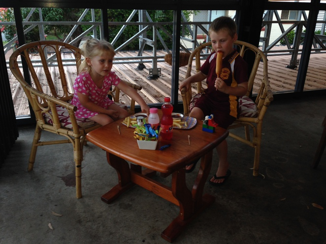 kids chose their own table