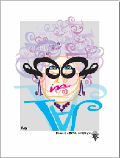 The one I bought, I adore Dame Edna