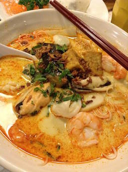Laksa King - seafood laksa #BED