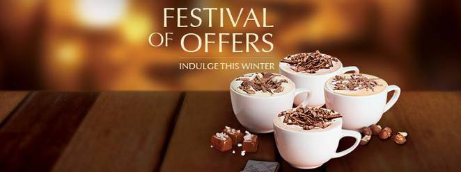Lindt Chocolate Cafe Festival of Offers