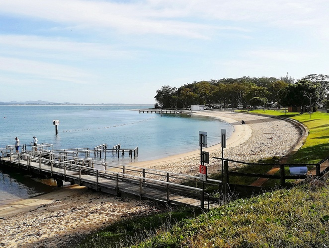 little beach, outdoor fitness, outdoor gyms, little beach, bays, port stephens, family beaches, things to do, little beach boat house, NSW,