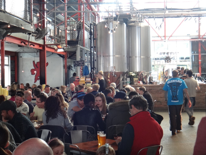 little creatures, pub, brewery, fremantle, lunch, dinner