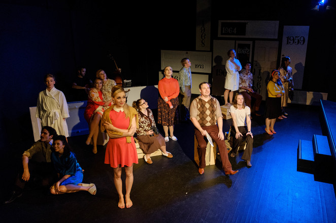 little triangle, theatre, performing arts, sondheim, musical, depot