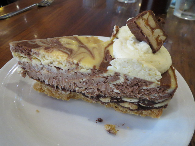 Manto Cafe, Snickers Cheesecake, Adelaide