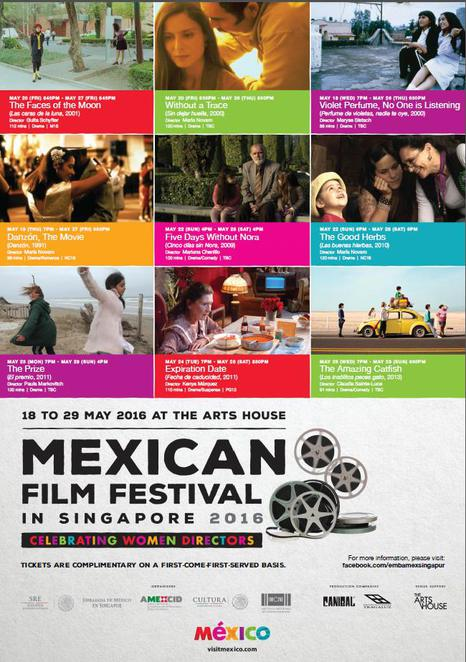 Mexican film festival, the Arts house Singapore, film festival in singapore, contemporary film